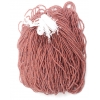 Seedbead 10/0 Blue Light Brown Color Lined Terra Colour Strung